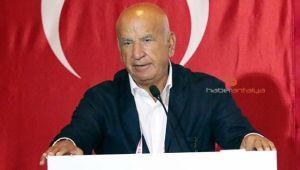 Antalyaspor Kulübü Derneği Başkanı Fikret Öztürk oldu.