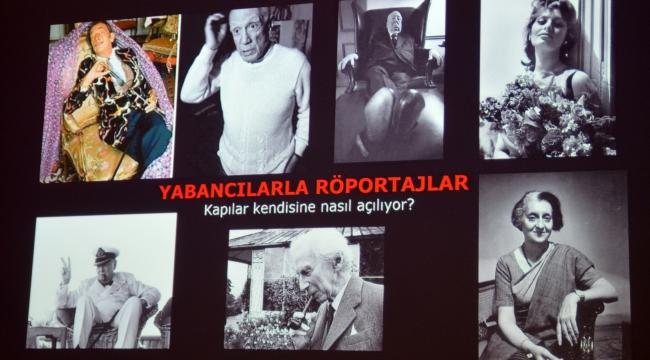 Ara Güler Antalya'da anıldı