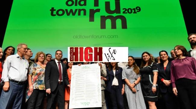 Old Town şehirlerinden ortak deklarasyon: Kimliksiz kentlere hayır