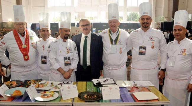 Gastronominin yıldızları Antalya'da