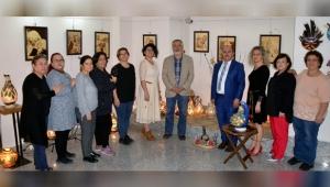 'YANSIMALAR' SERGİSİNE YOĞUN İLGİ