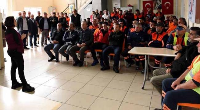 Muratpaşa Belediyesi'nden erkeklere eğitim